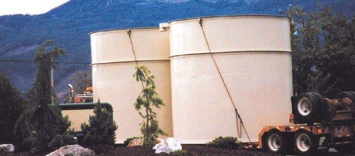 Изработка и монтаж на метални резервоари и контейнери